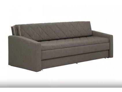 Rozkládací pohovka pro každodenní spaní Vision hnědá 160x200 cm nábytek blanář