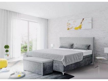 Manželská čalouněná postel Sonia s úložným prostorem 180x200 nábytek blanář 9