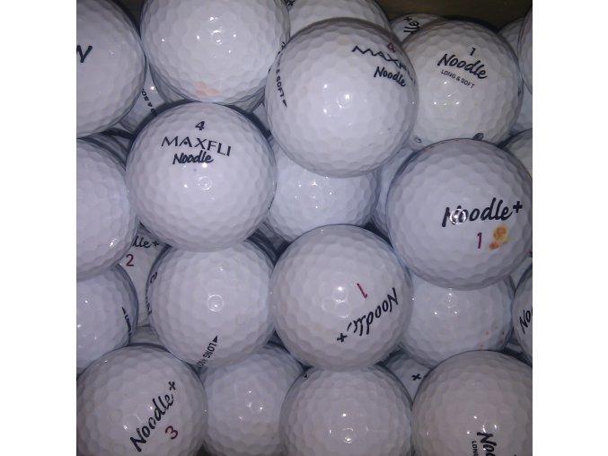 Golfové míčky Maxfli Noodle Long and Soft AAAA/AAA