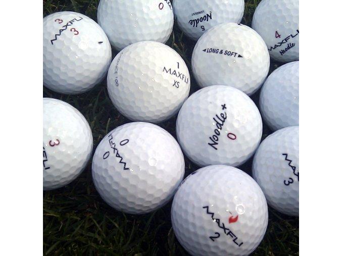 Golfové míčky Maxfli mix AAAA/AAA