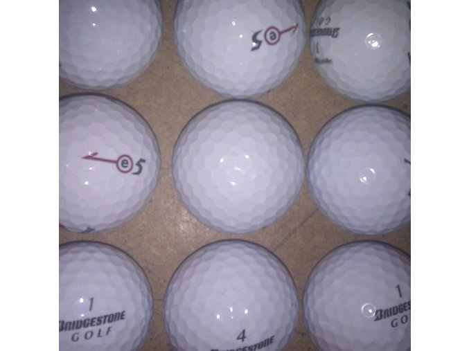 Golfové míčky Bridgestone E5 AAAA/AAA