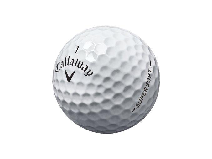 Golfové míčky Callaway Supersoft AAAA/AAA
