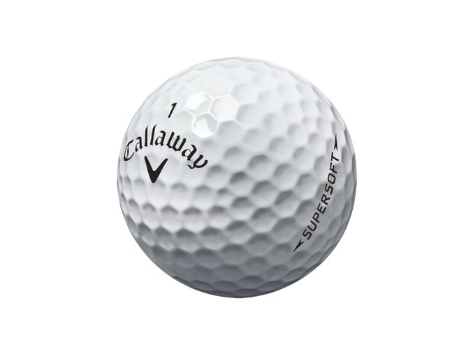 Golfové míčky Callaway Supersoft