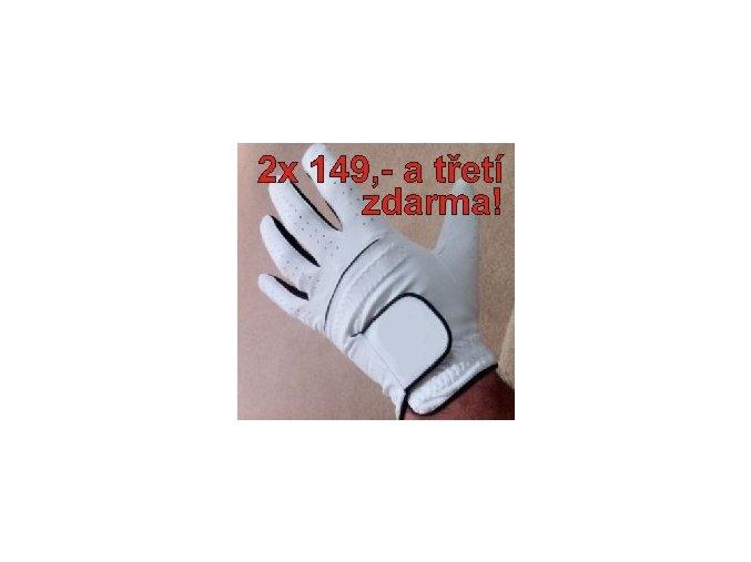 Golfová rukavice 3ks