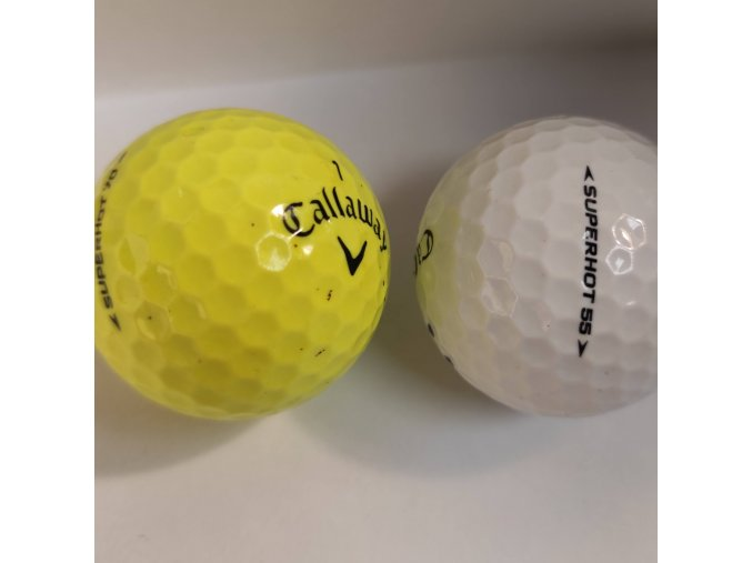 Golfové míčky Callaway SuperHot