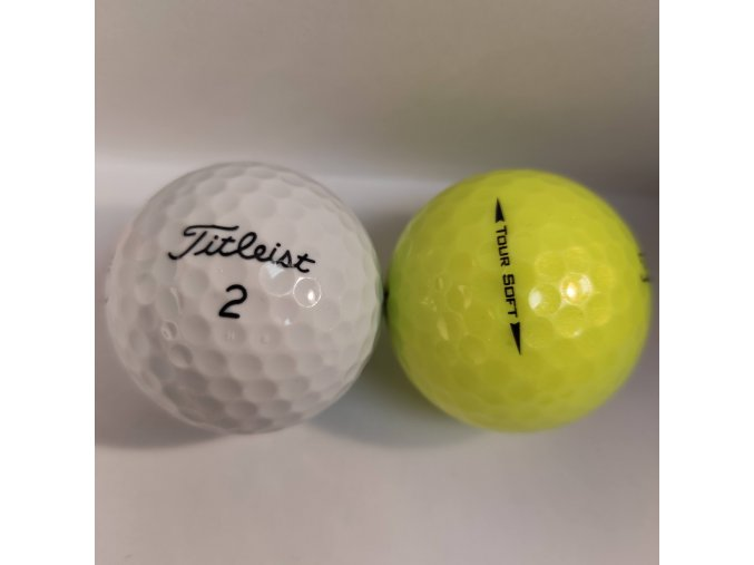 Golfové míčky Titleist Tour soft