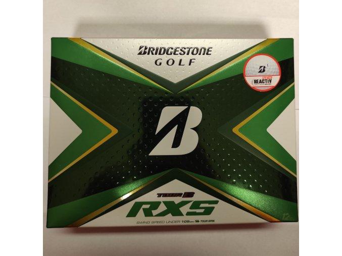 Golfové míčky Bridgestone Tour BRXS 3ks NOVÉ