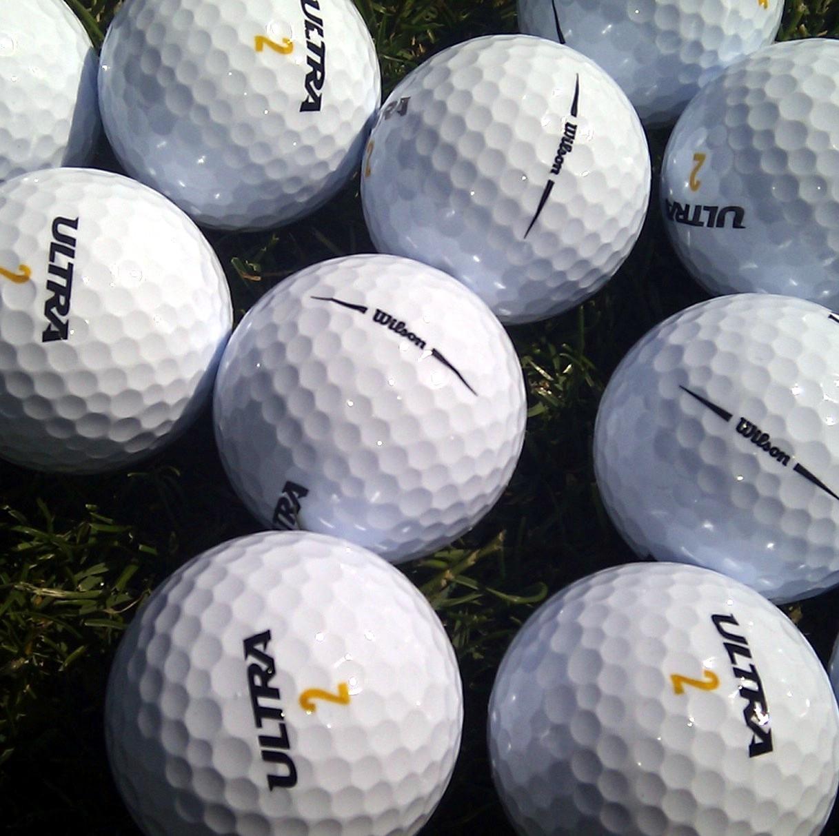 Golfové míčky Wilson mix AAAA
