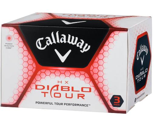 Golfové míčky Callaway HX Diablo Tour NOVÉ