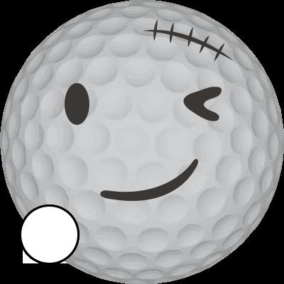 Golfové míčky Callaway SuperHot Barva: Bílé, Opotřebení: AAA/AA