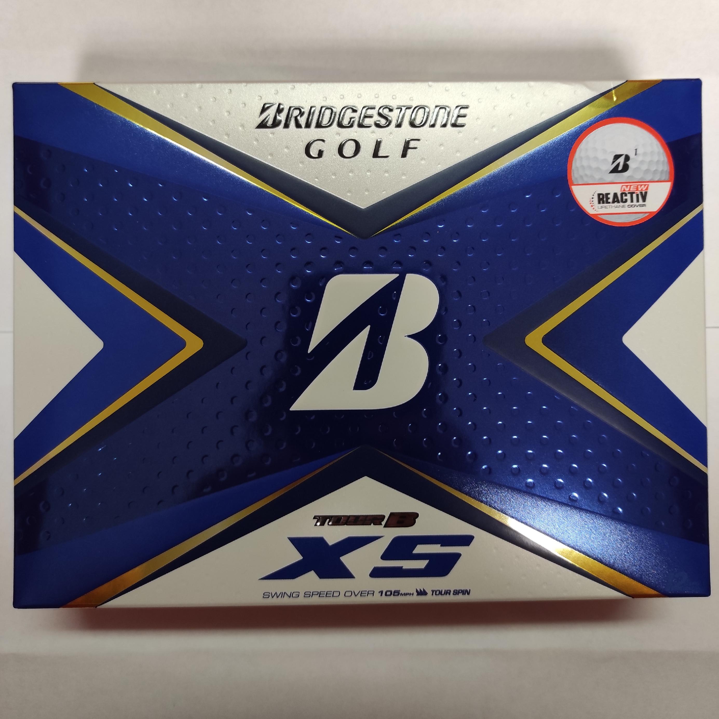 Golfové míčky Bridgestone Tour BXS 3ks NOVÉ