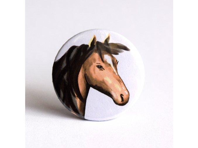 kůň zrcátko