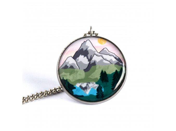 Náhrdelník s horami