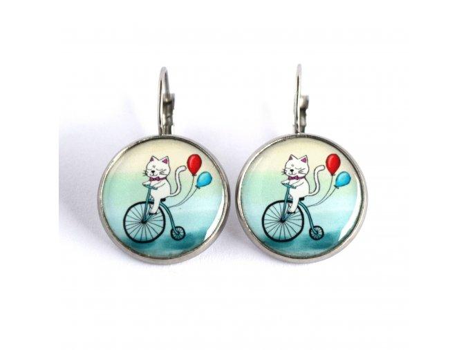 kočička na kole