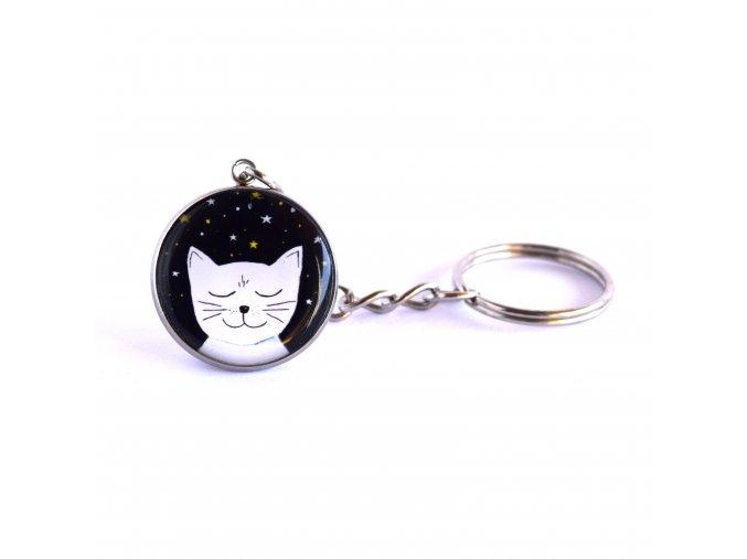 kočka klíčenka