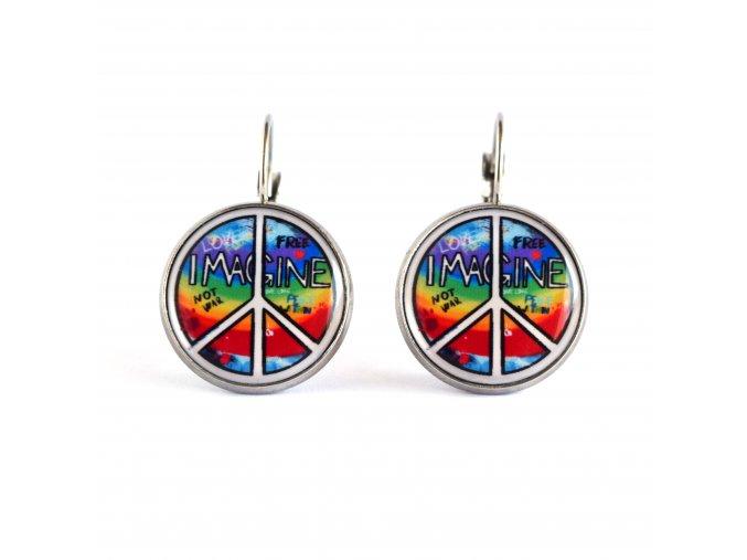 hippies náušnice
