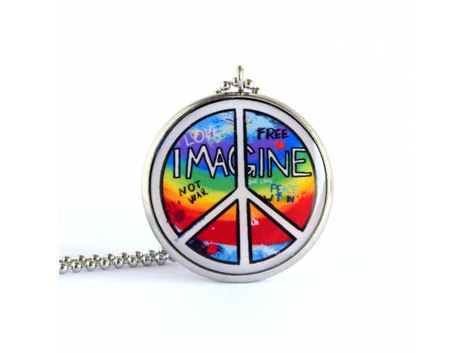 hippies náhrdelník