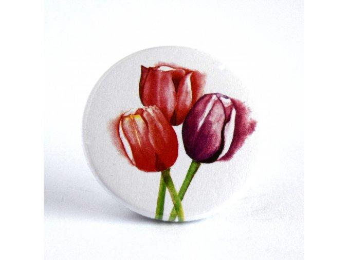 tulipány placka