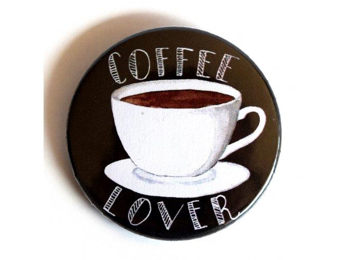 Coffee lover placka
