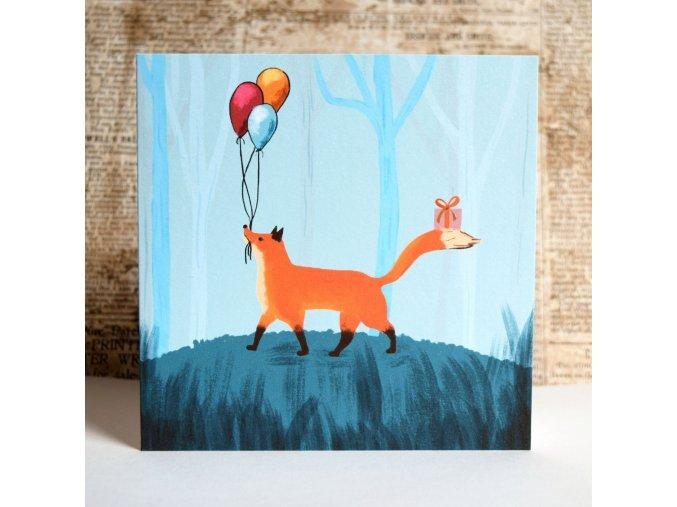 blahopřání liška