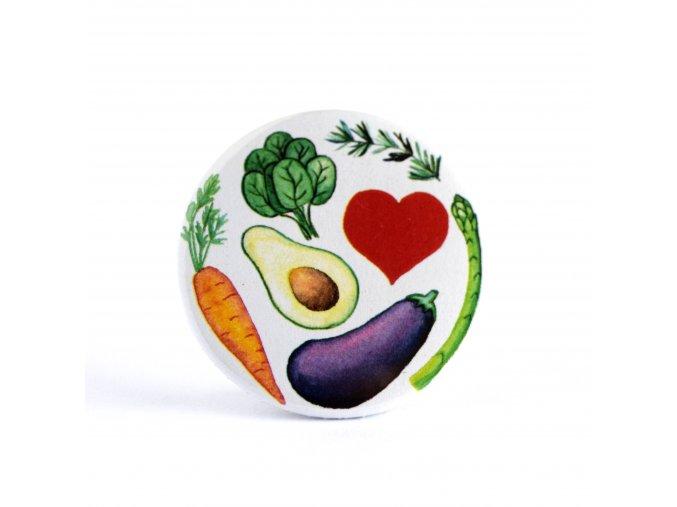 vegetariánské zrcátko