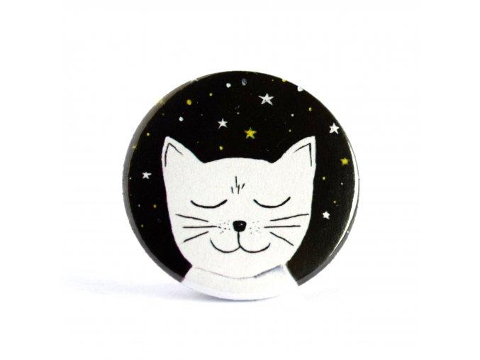 Kočka Dundo zrcátko