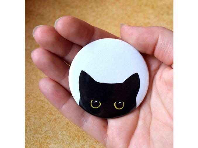 zrcátko černá kočka