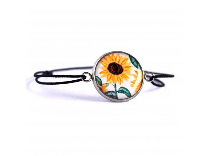 slunečnicový náramek