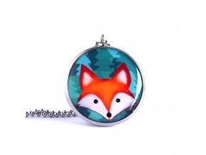 liška náhrdelník