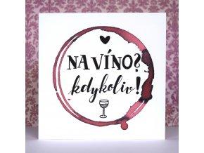 přání vinař