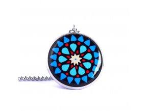 Mandala náhrdelník