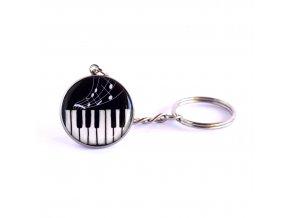 hudební klíčenka
