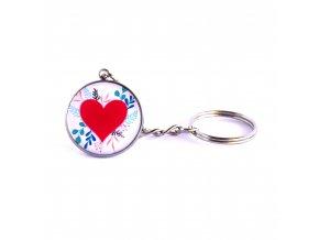 srdce klíčenka