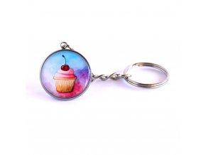 Cupcka klíčenka