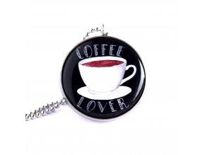 kafe náhrdelník