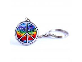 hippies klíčenka