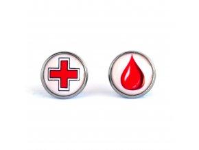 náušnice pro dárkyně krve