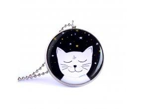 kočka náhrdelník