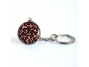 Leopardí klíčenka