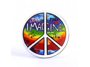 hippie placka