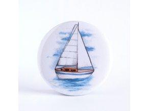 plachetnice zrcátko