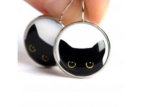 Náušnice s kočkou