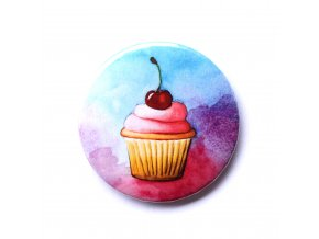 Placka cupcake třešeň
