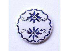 placka cibulák porcelán