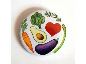 vegetariánská placka