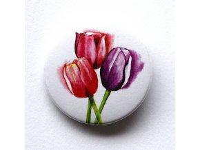 tulipán placka