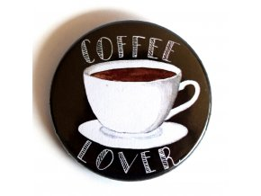 Coffee lover placka