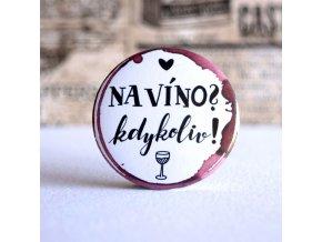 na víno zrcátko