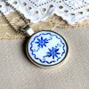 porcelán náhrdelník