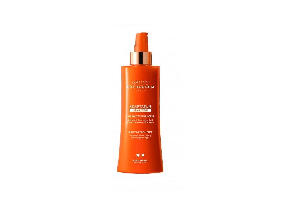 adaptasun sensitive skin body milk sun normal or strong sun telove mlieko pre citlivu plet pre silne slnko 527 w1200 flags1